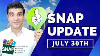 Daily Dose: August SNAP Food Stamps Maximum Benefit Extension & Pandemic EBT Stimulus Package Update