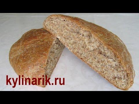 Воздушный белый хлеб в духовке