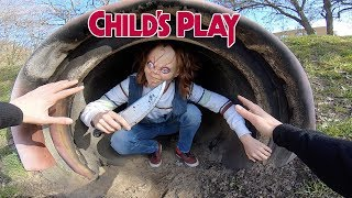 CHUCKY VS PARKOUR IN REAL LIFE | CHILD