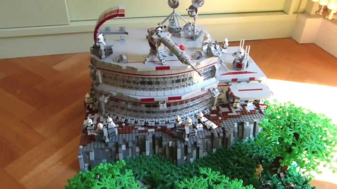 Lego Star Wars The Clone Wars Deutsch Clone Base Auf Cardia Moc