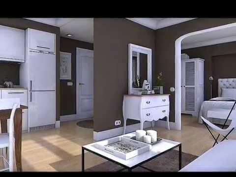 Diseño Interior Piso 16 M2 Doovi