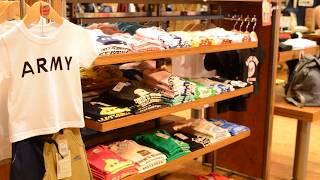世代を超えて支持される老舗アメカジショップ』 アメリカの倉庫をイメージした100坪の広大な店内には、珠玉のアメカジアイテムがズラリ♪ メンズだけでなくレディースも豊富 ...