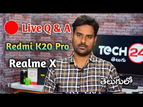 Live Tech Q&A Redmi K20 Pro, Huawei Ban Faq