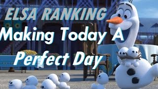 (New)Personal Ranking Of Making Today A Perfect Day