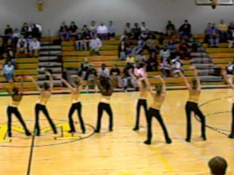 MMS Dance Team Basketball Game Performance 112409