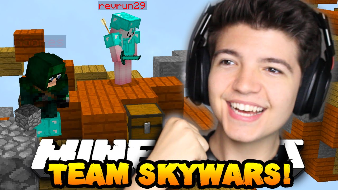 Minecraft Team Skywars 12 Quot The Perfect Attack Quot W