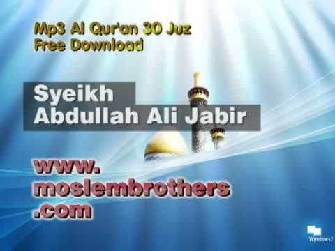 Mp3 Quran 30 juz Syeikh Abdullah Ali Jabir