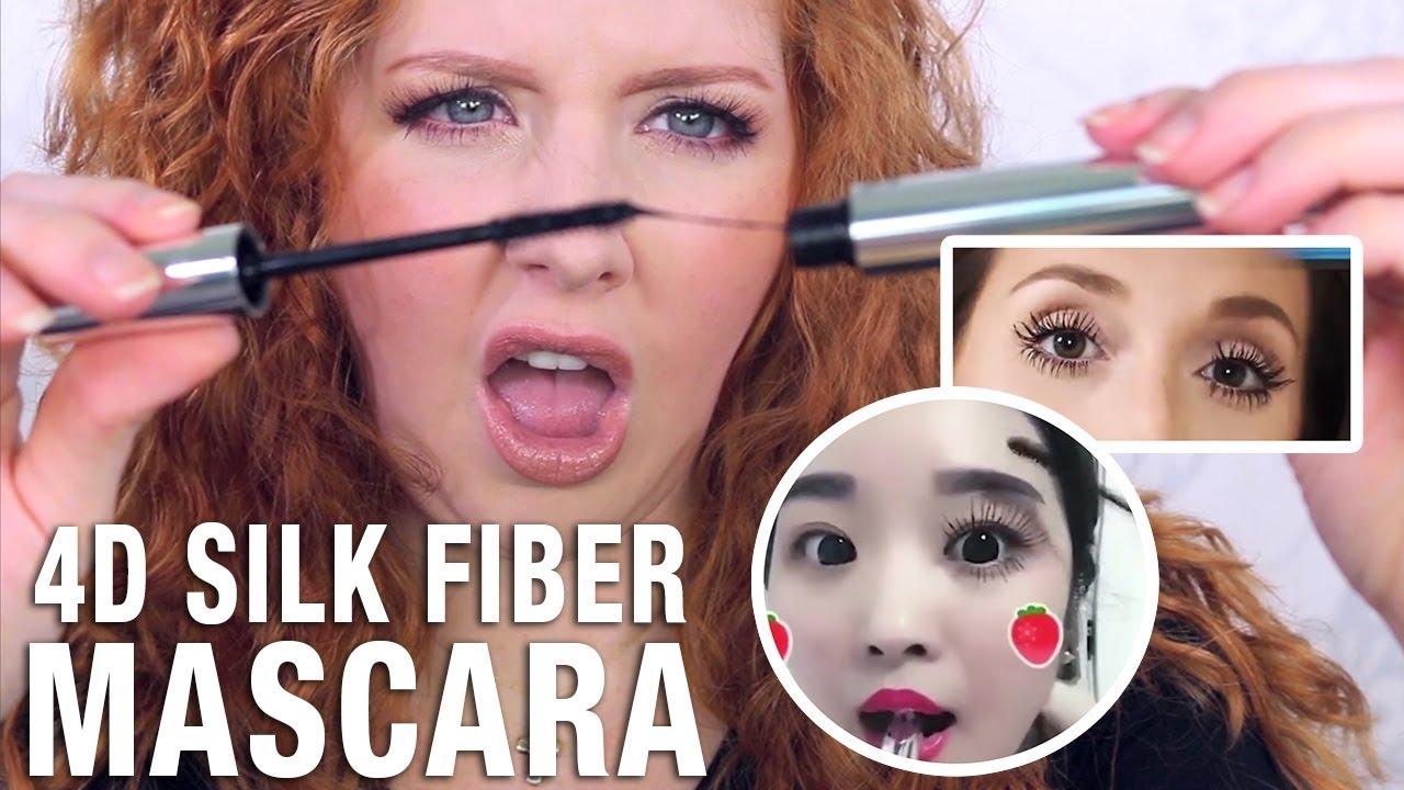 c3e1a0786cc Instagram Makeup Review | 4D Silk Fiber Mascara - YouTube