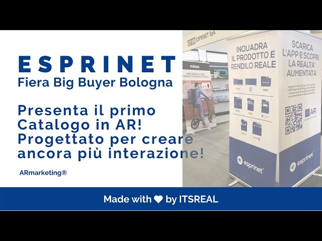 ESPRINET| BIG BUYER | AUGMENTED REALITY EXPERIENCE