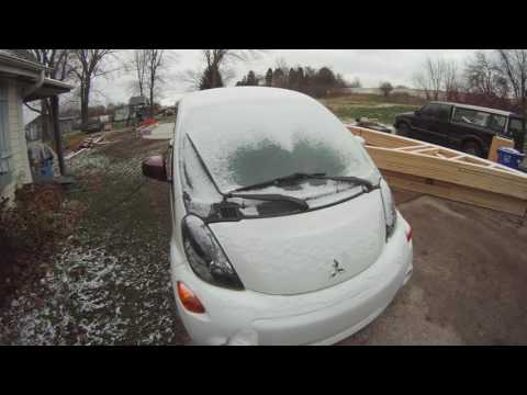 Electric Car Remote Defrost Feature Demo