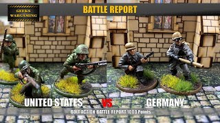 Bolt Action : Battle Report US Airborne vs German Grenadiers 1000 Points