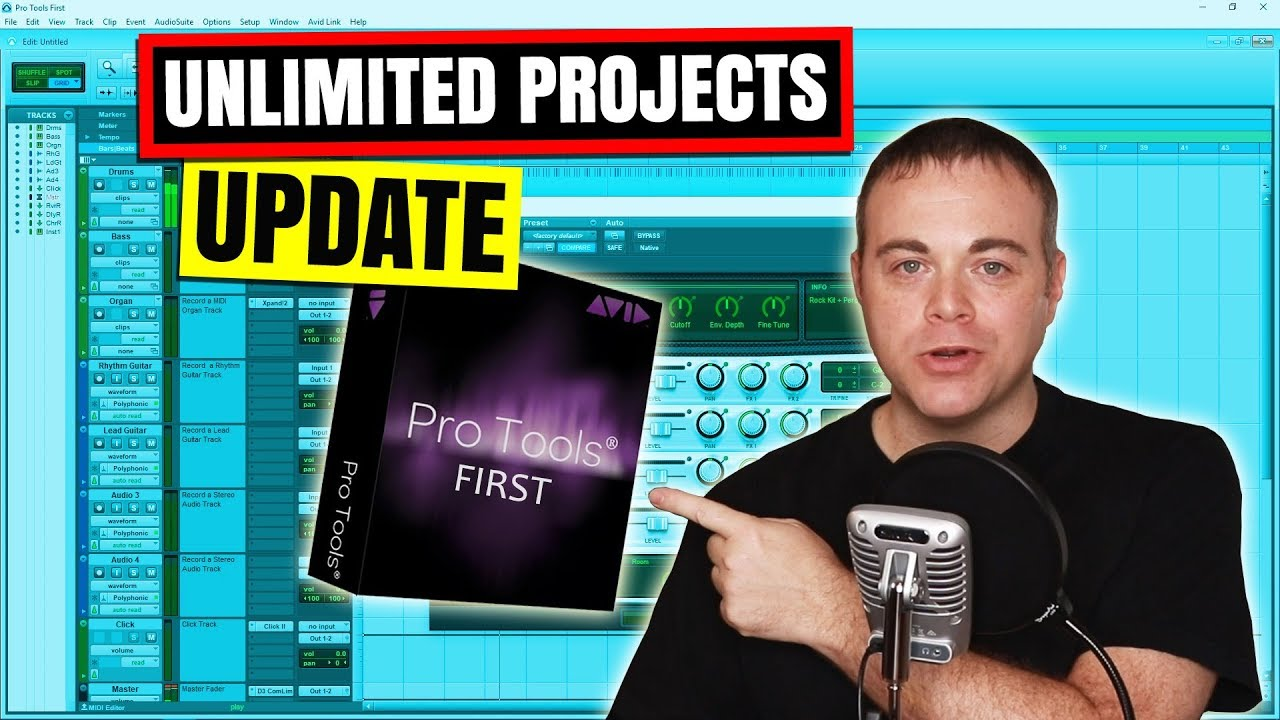 Pro Tools First 2019 Update Review - Free Audio Recording Software
