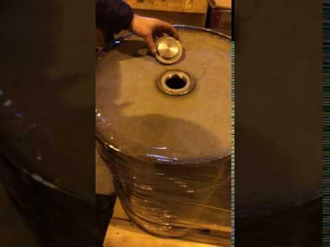 Бочка для спирта 200 литров 12Х18Н10Т, вес 58.6 кг