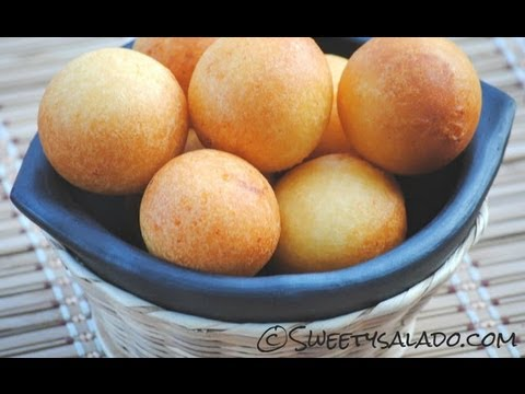 COLOMBIAN BUÑUELOS | How To Make Colombian Cheese Fritters | SyS