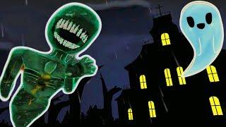Страшный Челлендж попробуй пройти 1000 комнат в огромном страшном доме с приведениями мульт игра