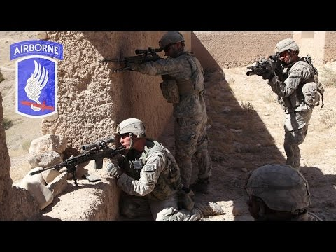 US Paratroopers In Afghanistan - Intense Firefights With Taliban - Rare Combat Footage