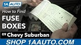 How to Replace Relay 00-07 Chevy Suburban - YouTube