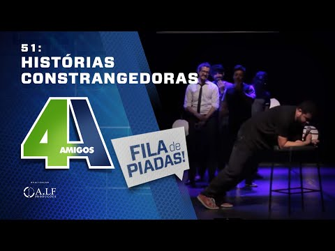 FILA DE PIADAS - HISTÓRIAS CONSTRANGEDORAS - #51 feat. Renato Albani thumbnail