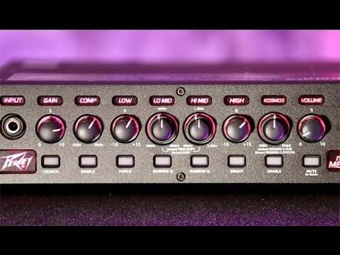 Review Demo - Peavey MiniMEGA Bass Amp