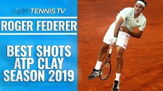 Roger Federer: Best Shots from 2019 ATP Clay Season