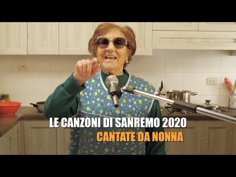 Le canzoni di SANREMO 2020 cantate da NONNA (PARODIA)