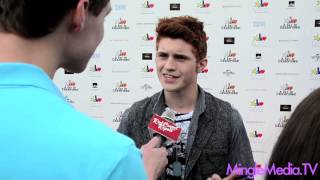 "Jake Walker at Yahoo! Sports ""A Day Of Champions"" @JakeWalkerActor"