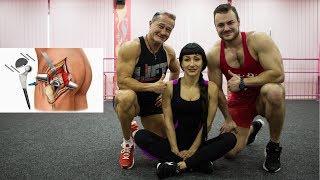 Гимнастика после эндопротезирования тазобедренного сустава: видео