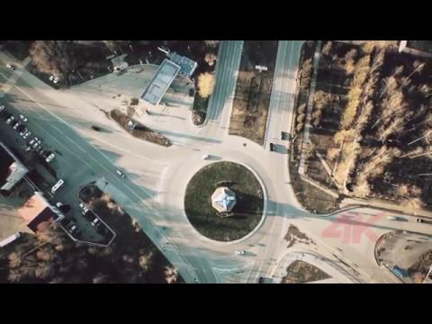 Видео г.Тобольск (Аэросъёмка)