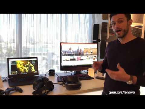 Lenovo's Windows Holographic VR headset
