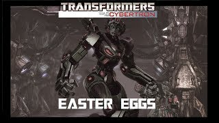 Transformers WFC (2010) - Easter Eggs