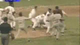 Minor League Baseball Fight