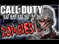 Call of Duty GHOSTS (WTF!!) ZOMBIES Custom Mode *LIVESTREAM* COD GHOST 2nd CO-OP Gameplay
