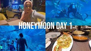 HONEYMOON | VLOG 1 🇦🇪