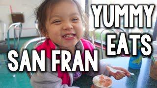 Yummy Eats in San Francisco, California   Kimmyonaquest Vacation VLOG