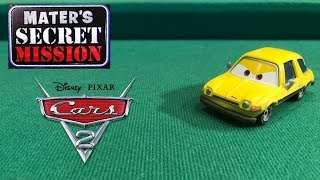 Mattel Disney Pixar Cars 2 Fred Pacer Die-cast Review