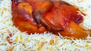 Restaurant style Yemeni Chicken Mandi Recipe without oven  Smoked  flavored mandi rice