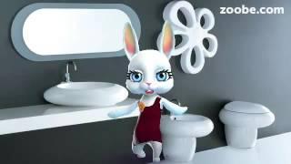 Zoobe Зайка Как вылизать всю квартиру
