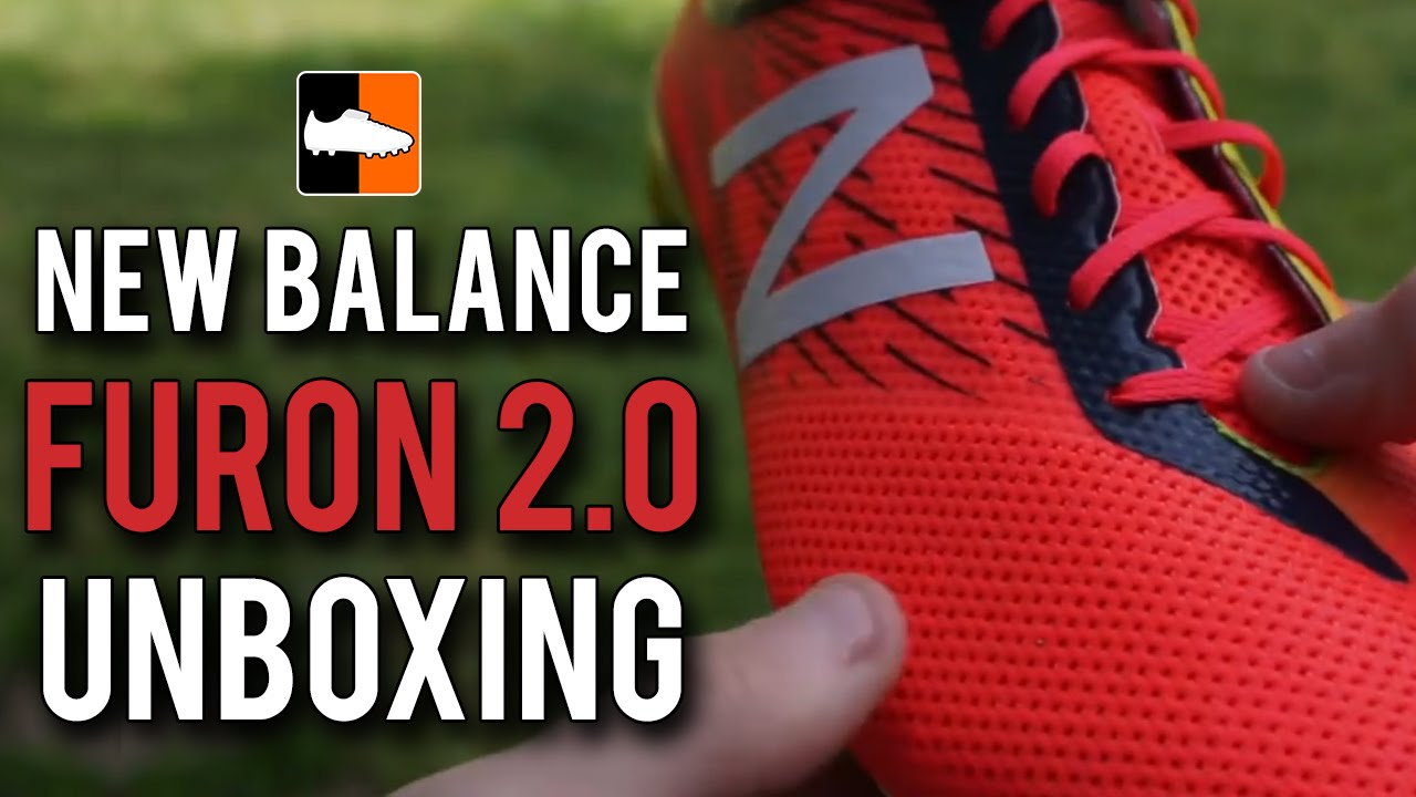 ef9c16817a00 New Balance Furon Pro 2.0 Unboxing | Bright Cherry/Galaxy/Firefly Football  Boots - YouTube