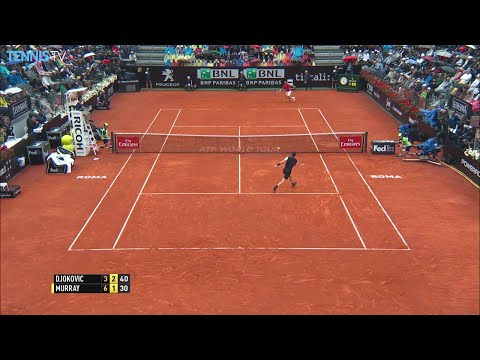 2016 BNL Internazionali d'Italia Final Highlights - Novak Djokovic v Andy Murray