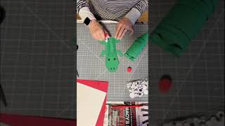 Alligator Paper Craft 🐊