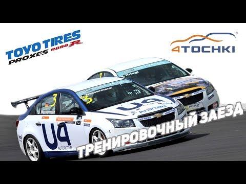 Toyo Tires - Тренировочный заезд на Proxes R888R