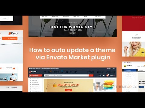 [WPThemeGo] How to Auto Update Themes and Plugins with Envato Market Plugin