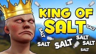 RAIDING THE KING OF SALT - Rust Funny Moments