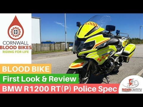 BMW 1200 RT P (Police Spec) Blood Bike - Ride and Review