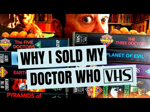 Why I sold my classic Doctor Who VHS collection. Plus: the 50 Doctor Who VHS tapes I just bought!