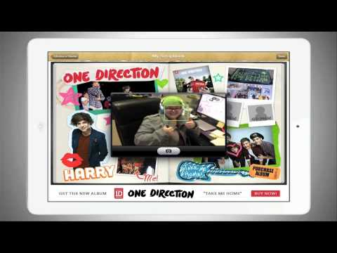 One Direction Scrapbook App For Ipadiphone One Direction Video