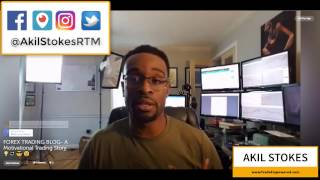 FOREX TRADING LIVE BLOG - A VERY Motivational Story