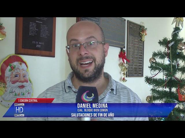 Daniel Medina  Salutaciones de fin de año
