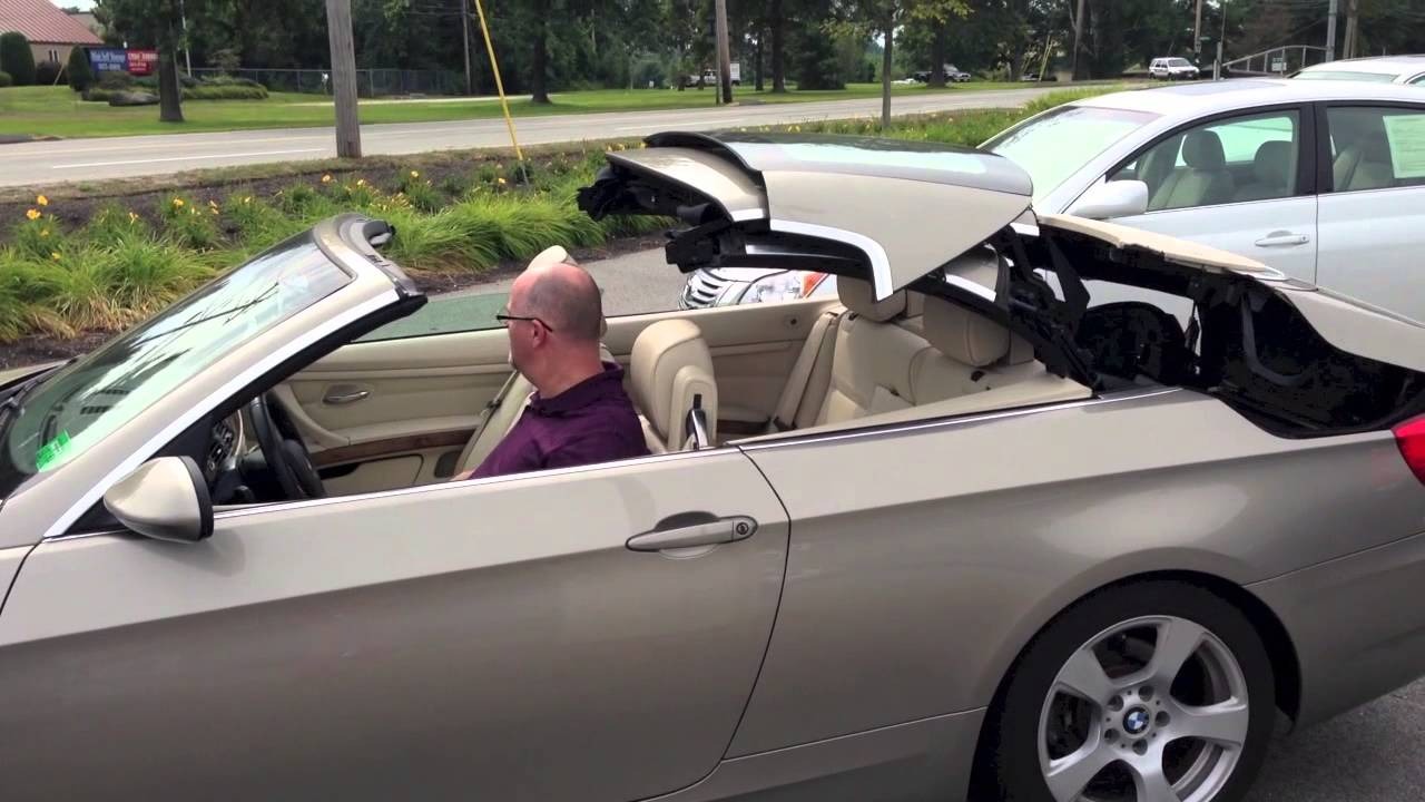 Tops Down On A BMW I Convertible At Portland Volvo YouTube - 2007 bmw 328i convertible