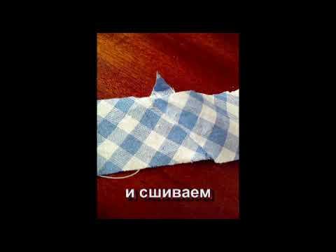 Cмотреть онлайн Шьем сами сарафан для дочери (we sew clothes for a girl)